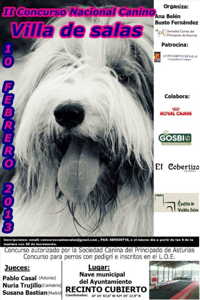II Concurso Nacional Canino.